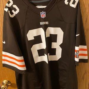 Men's Nike Cleveland Browns Joe Haden jersey